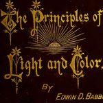 Edwin Babbitt's Bizarre Chromo Therapy